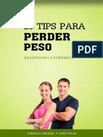 26 Tips Para Perder Peso TMF10