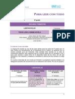 2 Ciclo 1er Enc Secuencia 6 Leer Novelas Todos Leen La Misma Novela