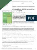 Cambio Climático_ Implicaciones para los edificios. Las principales conclusiones del IPCC - Construction21.pdf