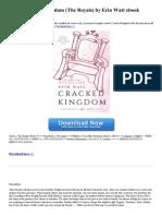 Cracked Kingdom the Royals