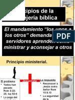 Principios Consejeria IBE Callao Servidores