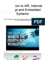 Intro to 4IR, IoT, And Embedded Systems