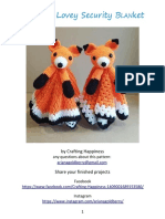 Compartir 'Foxy Fox Lovey Security Blanket Crochet Pattern.pdf'