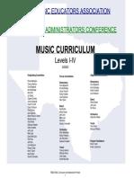 TX Music Curriculum I IV