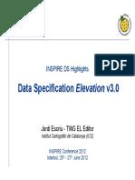 Data Specification Elevation v3.0