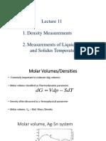 Lectures 11 _Density, Solidus and Liquidus measurements.pptx