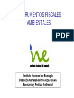 Instrumentos fiscales ambientales