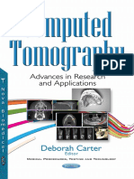 Computed Tomography Advances in Research and Applications
