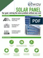 Sound Solar Panel - SSP_Brochure_EN
