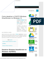 Como Desativar o CHATO Windows SmartScreen No Windows 10 – Blog Tudo Dicas