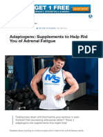 Adaptogens_ Supplements to Help Rid You of Adrenal Fatigue