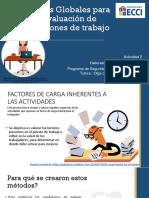 Métodos Globales Para La Evaluación de Condiciones de Trabajo