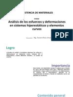 Análisis Hiperestáticos y Elementos Curvos