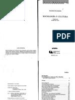 Bourdieu Sociologia y Cultura 135141