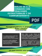 Modelos desarrollo organizacional