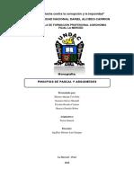 Monografia Principios de Arquimedes y Pascal