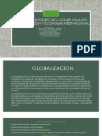 Globalizacion y Economia Internacional