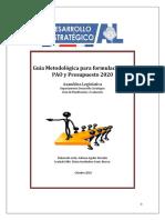 Guía Metodológica para la formulación del PAO y procedimiento, año 2020.docx