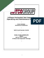 WOM Separator  Operating and Maintenance Manual