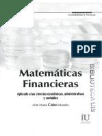 Matematicas Financieras Abel Maria Cano Morales