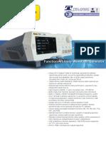 Rigol DG821 Waveform Generator Datasheet