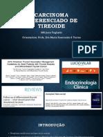 Câncer diferenciado da tireóide