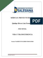 Módulo Proyecto de Vida UPS