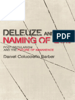 (Plateaus_ New Directions in Deleuze Studies) Daniel Colucciello Barber - Deleuze and the Naming of God_ Post-Secularism and the Future of Immanence-Edinburgh University Press (2014).pdf