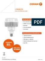 Datasheet - Led Superstar Alta Potência e40