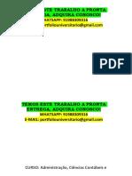 Portfólio Adm Contabeis e Economia 1 Semestre Temos a Pronta Entrega Whatsapp 91988309316 E-mail Portfoliouniversitario@Gmail