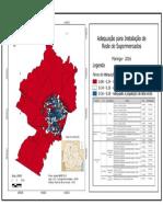 Mapa Sintese de Maringá- Antonio Alcir Da Silva Arruda