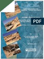 A6730-Evaluación Peligros Geológicos Sector Cerro San Cristobal