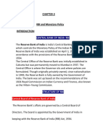 CHAPTER 3 RBI and Monetary Policy.docx