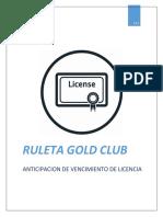 LICENCIA GOLDCLUB