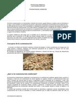 contaminacion ambiental 2018