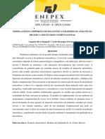 MODELAGEM DA DISPERSÃO DE POLUENTES