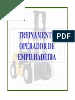 EMPILHADEIRA TREINAMENTO