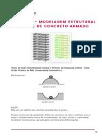 MODELAGEM ESTRUTURAL DE EDIFÍCIOS DE CONCRETO ARMADO