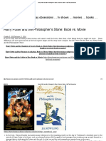 Harry Potter and the Philosopher's Stone_ Book vs. Movie – My Tiny Obsessions