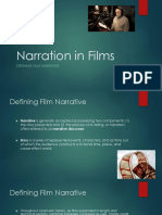 Narration in Films