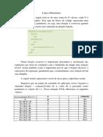 Algoritmo recursivo para lógica matématica