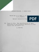 Witt 1958 - Spider Test