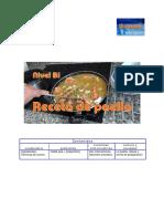 B1 Receta Paella Actividad