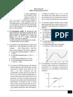 Ejercicios - Taller Física PC3