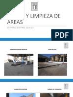 Orden y Limpieza de Areas