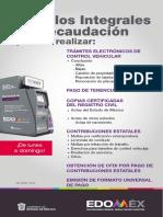 Reemplacamiento Edomex 2019 PDF Módulos de Recaudación