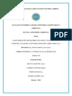 TRATAMIENTO DE LODOS RESIDUALES DE UNA PTAR INDUSTRIAL. GRUPO N°4