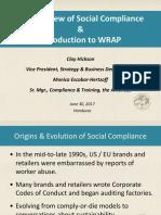 1 WRAP Presentation Honduras Overview