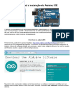 Download e Instalacao Do Arduino IDE