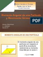 Momento Angular de Una Partícula